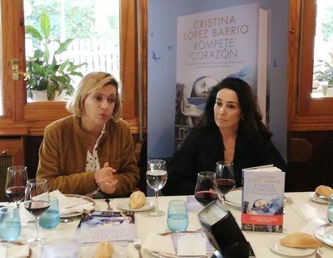 """Cristina López Barrio presenta """"Rómpete corazón"""" en los escenarios de la novela"""