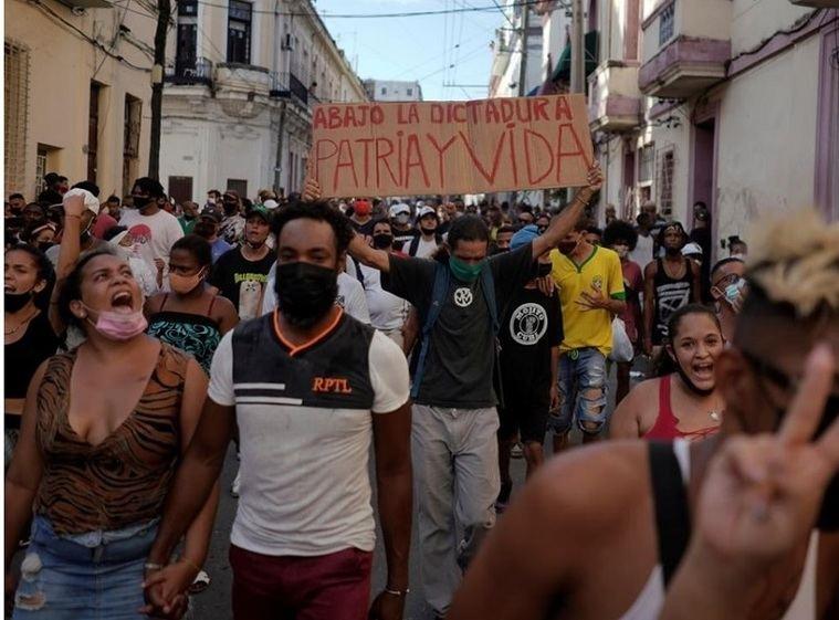 Cuba, patria y vida