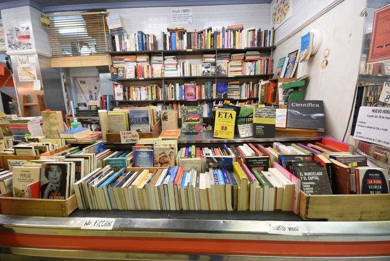 Librería de segunda mano La Casquería