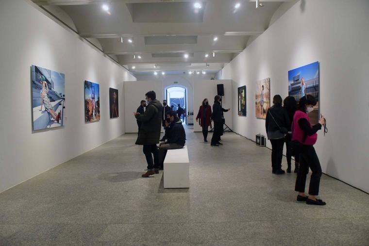 Vista de la exposición