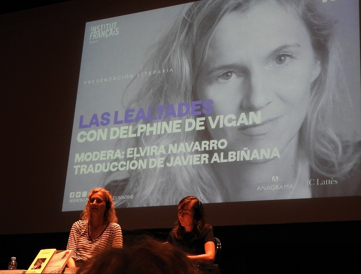 Delphine de Vigan y Elvira Navarro