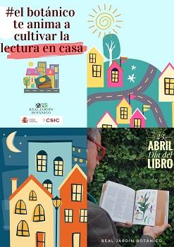 En el Día del Libro el Real Jardín Botánico anima a cultivar la lectura en casa