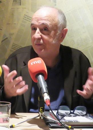 """El autor del libro """"""""Días como aquellos, Granada 1924. Juan Ramón Jiménez y Federico García Lorca"""", Alfonso Alegre Heitzmann."""