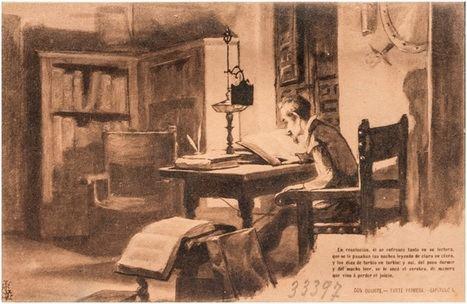 Las primeras postales de tema quijotesco en España (II)