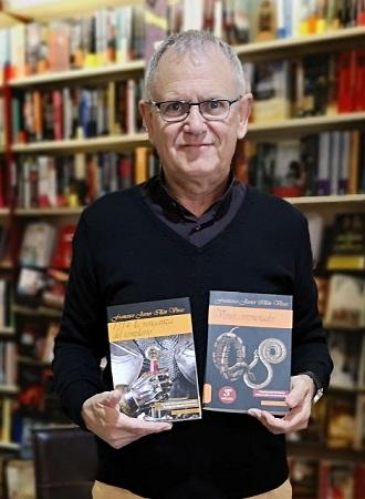 El escritor Francisco Javier Illán Vivas participará esta semana en la Feria del Libro de Palencia