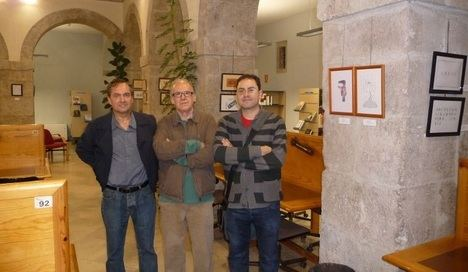 Rafael Marín, Atilano Sevillano y David Acebes Sampedro