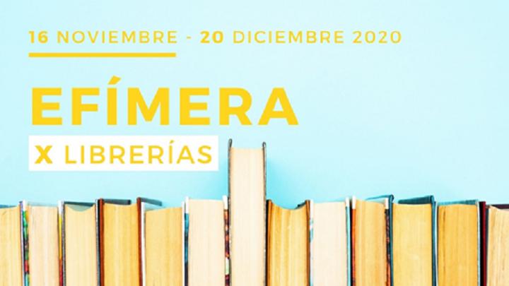 EFÍMERA X LIBRERÍAS: una ruta por 10 librerías independientes y de barrio de Madrid
