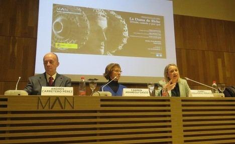 """Presentación del libro """"La Dama de Elche: dónde, cuándo y por qué"""", de la catedrática Carmen Aranegui"""