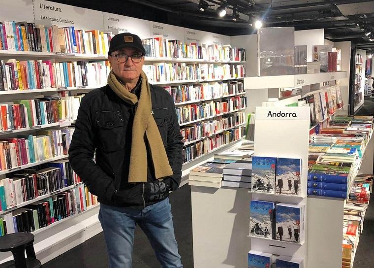 Joaquín Abad en la FNAC de Andorra