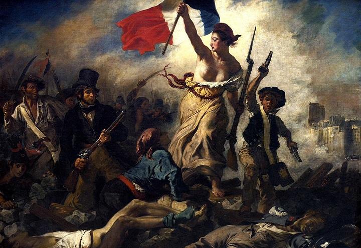 La liberté guidant le peuple, de Eugène Delacroix