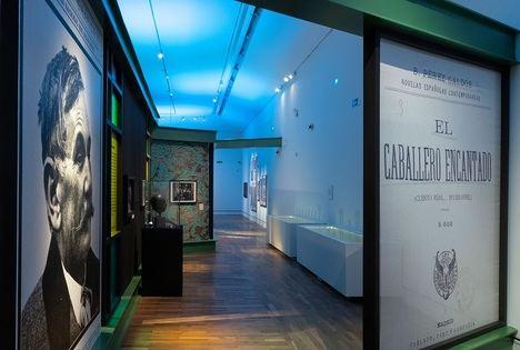 Entrada a la exposición conmemorativa de don Benito Pérez Galdós