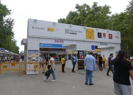 Recta final de la Feria del Libro de Madrid