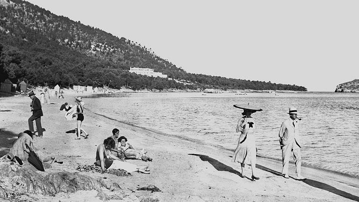 Imagen histórica del Hotel Formentor