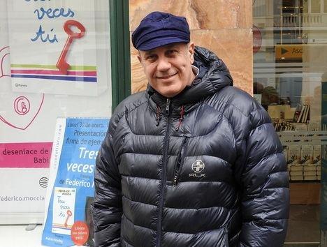 Federico Moccia presenta