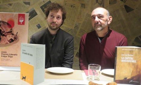 Jordi Juan Martínez y Rui Díaz presentan las obras ganadoras del Premio Felipe Trigo