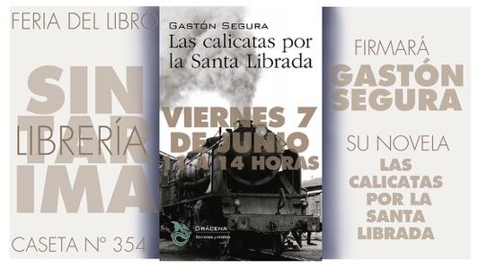 Gastón Segura en la Feria del Libro de Madrid