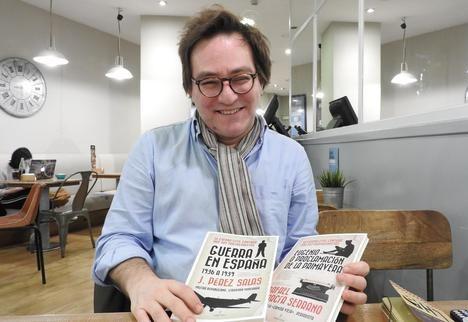 """Fernando Calvo González-Regueral: """"Ganó la Guerra Civil el que mejor utilizó los recursos que tenía a su disposición"""""""