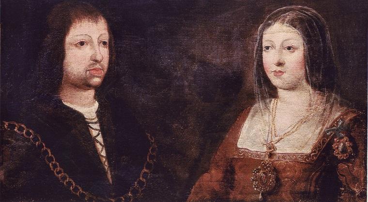 Fernando de Aragón y de Navarra e Isabel de Castilla y de León