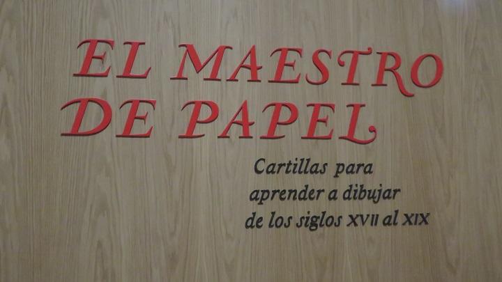 Exposición El maestro de papel