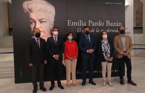 """Se inaugura la exposición """"Emilia Pardo Bazán. El reto de la modernidad"""""""