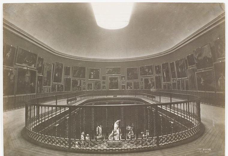 Museo del Prado, vista de la Sala de la Reina Isabel II