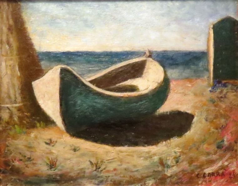 La barca, 1928. Carlo Carrà