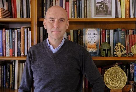 """Entrevista a César Morales: """"Me gusta que mis libros reflejen la realidad"""""""
