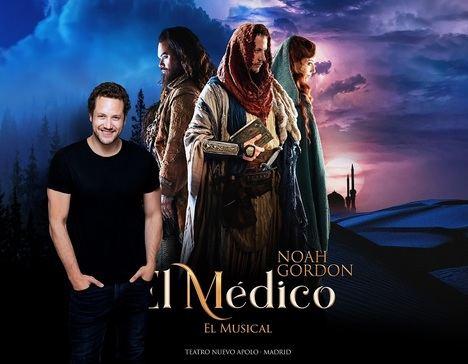 Daniel Diges se incorpora como protagonista a la segunda temporada del musical 'El Médico'