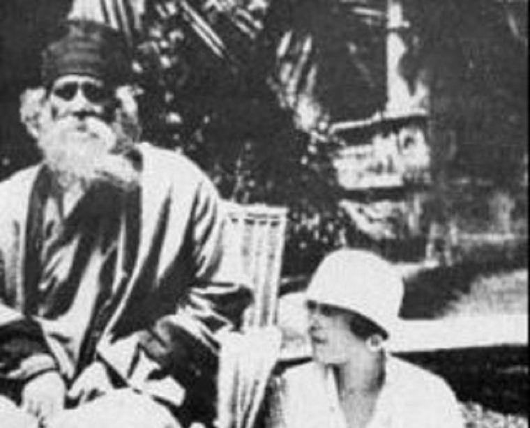 Victoria Ocampo y Tagore en San Isidro