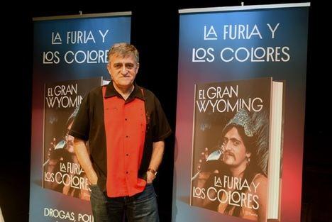"""El Gran Wyoming publica """"La furia y los colores"""""""