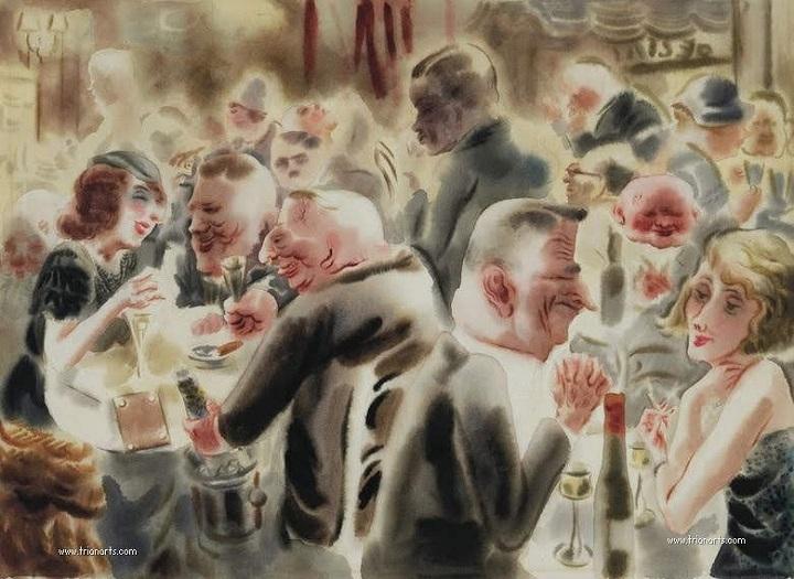 Pintura de Georg Grosz