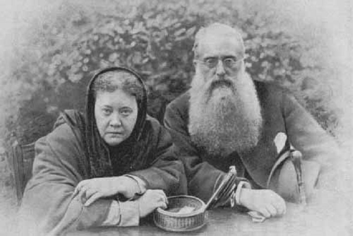 H. P. Blavatsky y H. S. Olcott