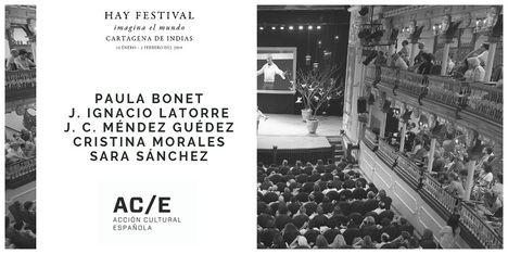 Hoy comienza el Hay Festival de la ciudad colombiana de Cartagena