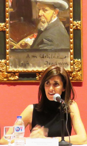 """La autora del libro """"Archer M. Huntington"""", Patricia Fernández Lorenzo"""