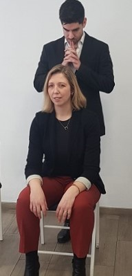 Juanma González y Helene Flood