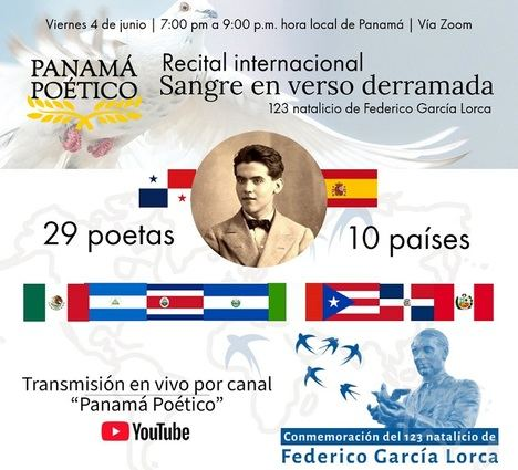 Recital poético en homenaje al 123 aniversario del natalicio de Federico García Lorca