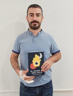 El escritor Gabriel Estañ Cerezo lanza su tercera novela: