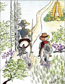Estudiantes iberoamericanos dan vida a nuevas aventuras de Don Quijote y Sancho Panza a ambos lados del Atlántico en una iniciativa pionera