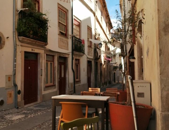 Las intrincadas calles de Coimbra