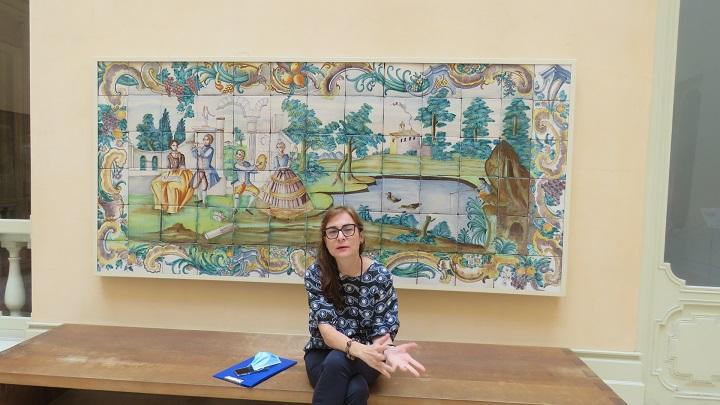 Isabel Justo, la anfitriona perfecta para conocer la Valencia del pintor Sorolla