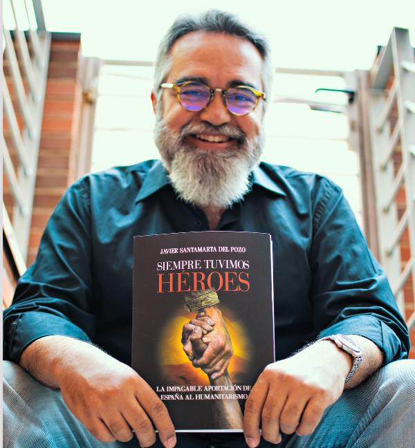 """Javier Santamarta del Pozo: """"El causante de muchos de nuestros males puede que sea el que no seamos capaces de digerir tanta Historia"""