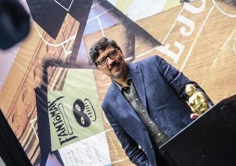 Entrevista con Carlos Bardem, ganador del Premio Espartaco de novela histórica de la Semana Negra de Gijón