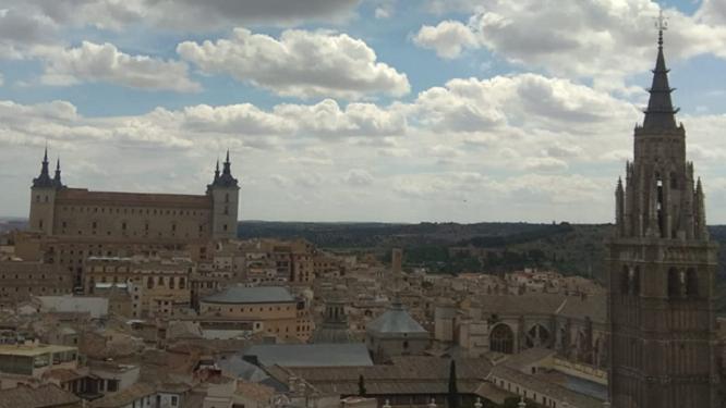 Vista de Toledo desde las torres de San Ildefonso (iglesia de los Jesuitas)
