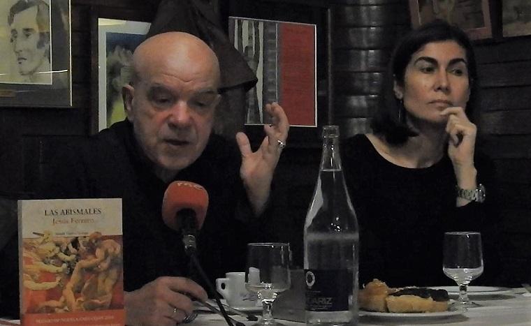 Jesús Ferrero y Ofelia Grande