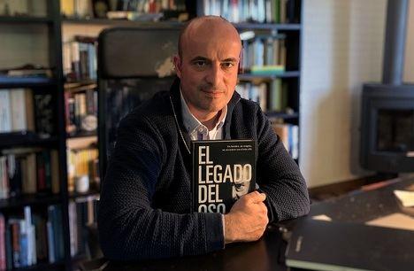 """Fernando López del Oso: """"El libro recoge mí verdadero homenaje"""""""