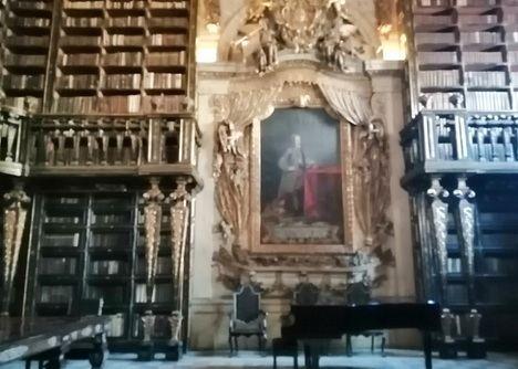 Los murciélagos salvaron a la Biblioteca Joanina de Coimbra, una de las joyas del Barroco portugués
