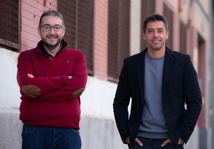 Juan Ramón Santos y Pablo Gutiérrez