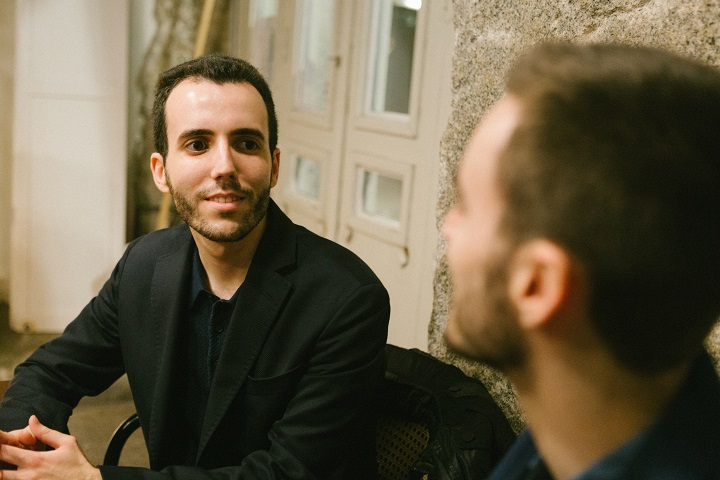 Miguel Berzal de Miguel junto a su hermano Javier