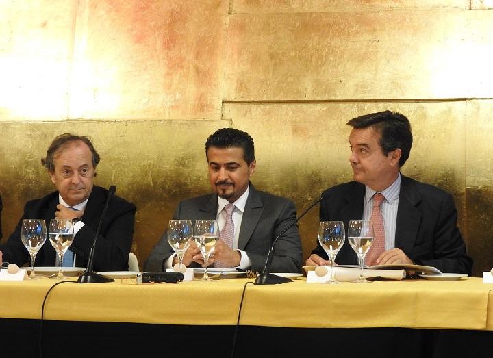 Miguel Barrero, Ahmed Al Ameri y Eduardo López-Puertas