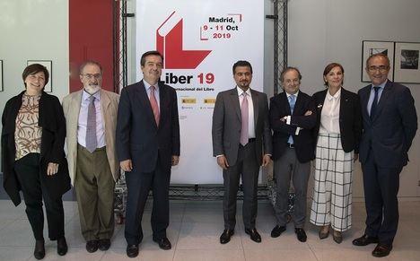 Maribel López, Antonio Mª Ávila, Eduardo López-Puertas, Ahmed Al Ameri, Miguel Barrero, Ana Larrañaga y Patrici Tixis